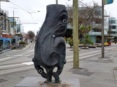 Street sculpture; Christchurch