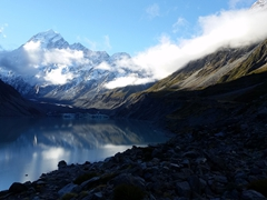Magestic mountains abound in Mt Cook National Park