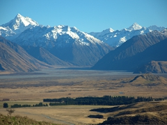 "Mt Sunday (otherwise known as ""Edoras, the capital of Rohan"" for Lord of the Ring fans)"