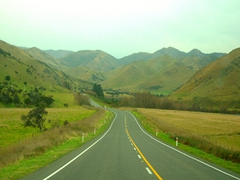 Picturesque drive to Hanmer Springs