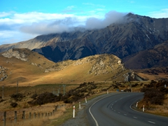 Leaving Castle Hill to drive towards Arthur's Pass