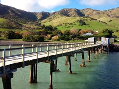 Jetty at Port Levy, Banks Peninsula