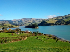 View of Port Levy; Banks Peninsula