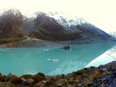 This is the reason why Hooker Valley remains Mt Cook's most popular hiking trail