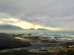 Sunset over Kaikoura