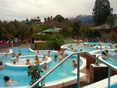 Hanmer Springs thermal pools are the perfect way to spend a dreary, rainy day