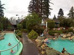 Panorama of Hanmer Springs