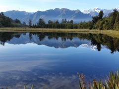 Lake Matheson jetty viewpoint