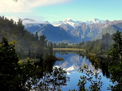 View of views; Lake Matheson