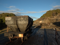 Old coal transport; Denniston Coal Mine