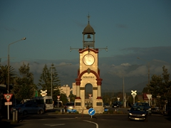 Hokitika town clock