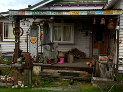 An eclectic house in Ross