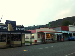 Downtown Reefton