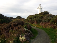 Cape Foulwind lighthouse
