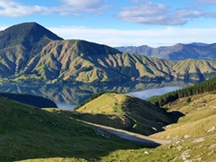 Even though we weren't technically supposed to drive our rental on a gravel road, we had to break the rules to check out the gorgeous Marlborough Sounds area!