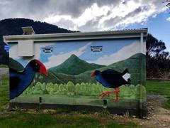 Pukeko mural