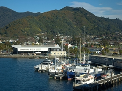 View of Picton harbor