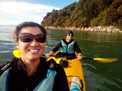 Enjoying our morning with Kaiteriteri Kayak