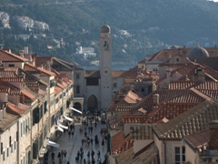 Gorgeous views abound from Dubrovnik's city walls