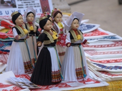 Dolls wearing traditional Croatian dresses for sale