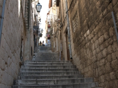 Lots of staircases in this quaint city!