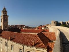 Phenomenal views on the city wall walk