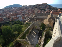 "Enjoy an easy city wall walk around Dubrovnik, a definite ""must do"""