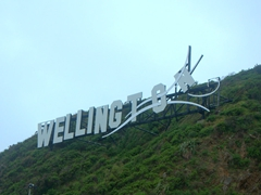 Wellington welcome sign