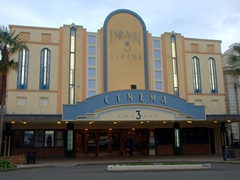 Art Deco movie theater in Whanganui