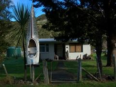 Canoe mailbox; Whanganui River Region