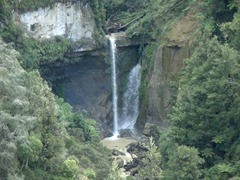 Waterfall; Whanganui River Road