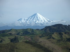 View of Mount Taranaki; Forgotten Highway