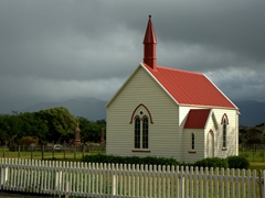 Historic Burnside Church; Pirinoa