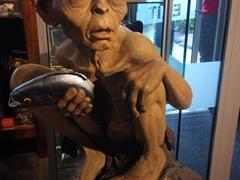 """Gollum """"my precious""""; Weta Cave museum"""
