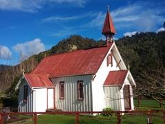 Pepara Church, Koriniti Marae; Whanganui River