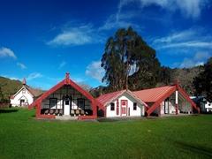 Meeting houses (wharenui) of Koriniti Marae