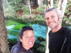 Selfie at Hamurana Springs
