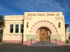 The National Tobacco Company Ltd (1932) is considered Napier's best Art Deco building