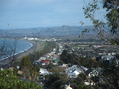 View from Bluff Hill Lookout; Napier