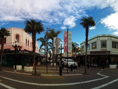 Art deco architecture on Emerson Street in downtown Napier