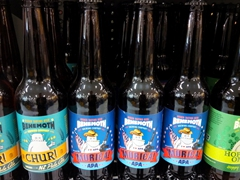 A sample of New Zealand craft beers; Behemoth Brewing Company