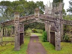 Maori section of Wairakei
