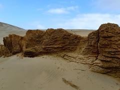 Another view of Te Paki's giant sand dunes; Cape Reinga