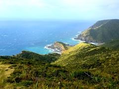 View towards Tapotupotu Bay; Cape Reinga