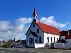 Circa 1880 Church of Saints Peter and Paul; Puhoi