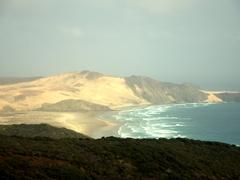 View of Ninety Mile Beach; Cape Reinga
