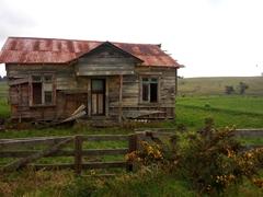 Decrepit building near Kaitaia