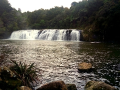 Wharepuke Waterfall
