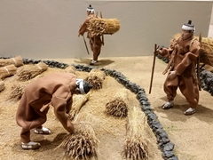 Farming diorama; Natural History Museum
