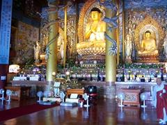 3 meter tall Buddha; Yakcheonsa Temple